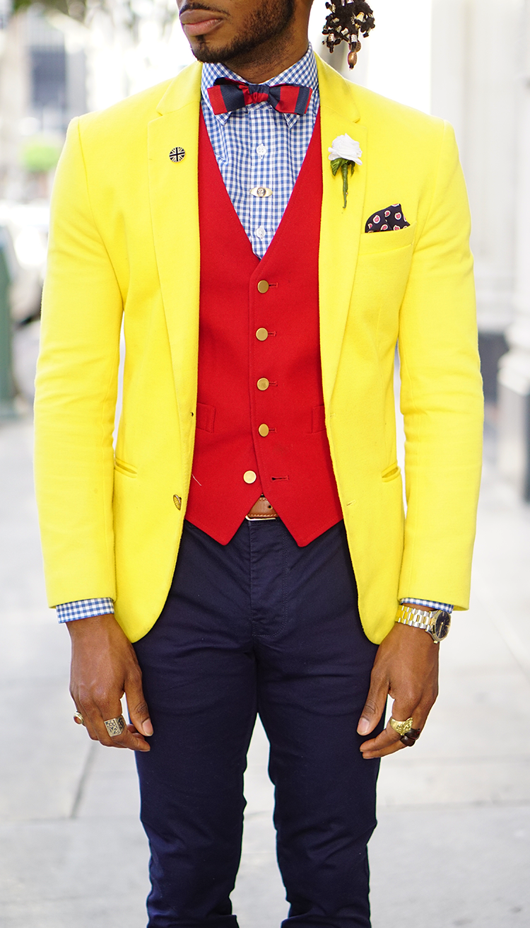 HOW TO DAPPER UP A YELLOW SPORTS COAT – Norris Danta Ford