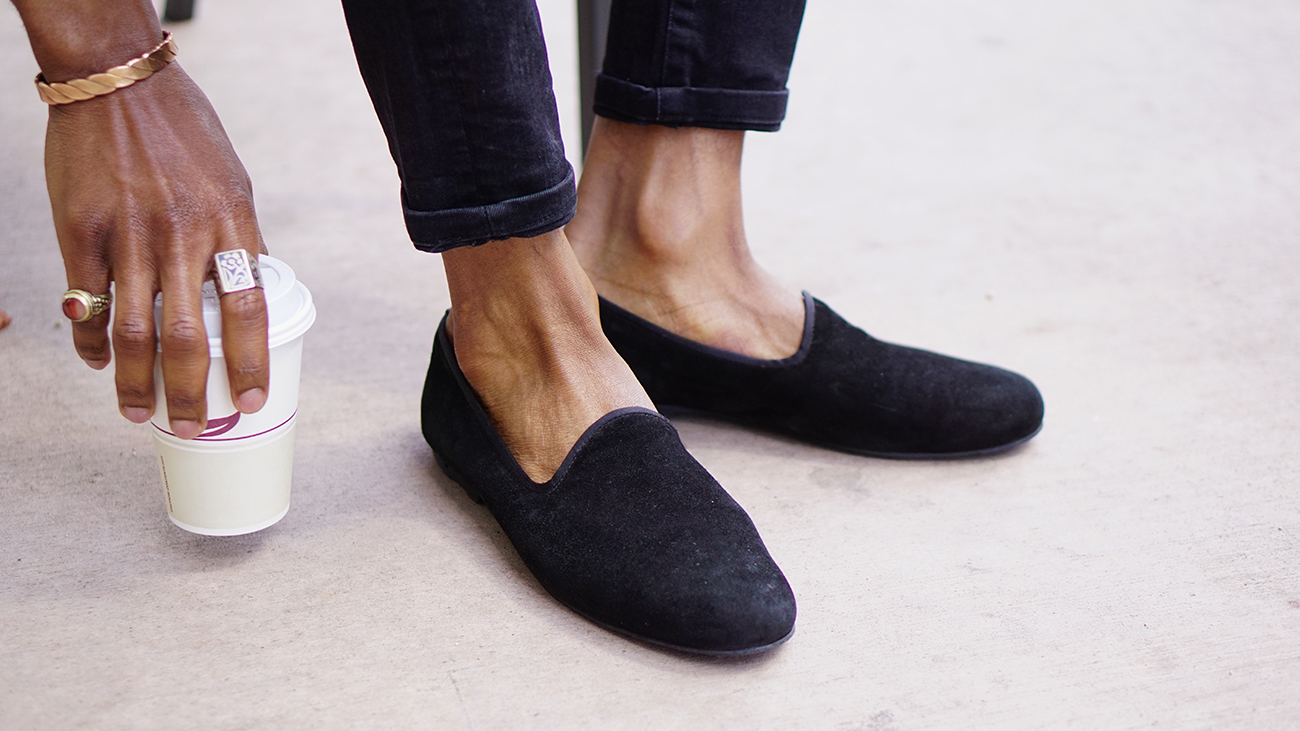 black-suede-loafers