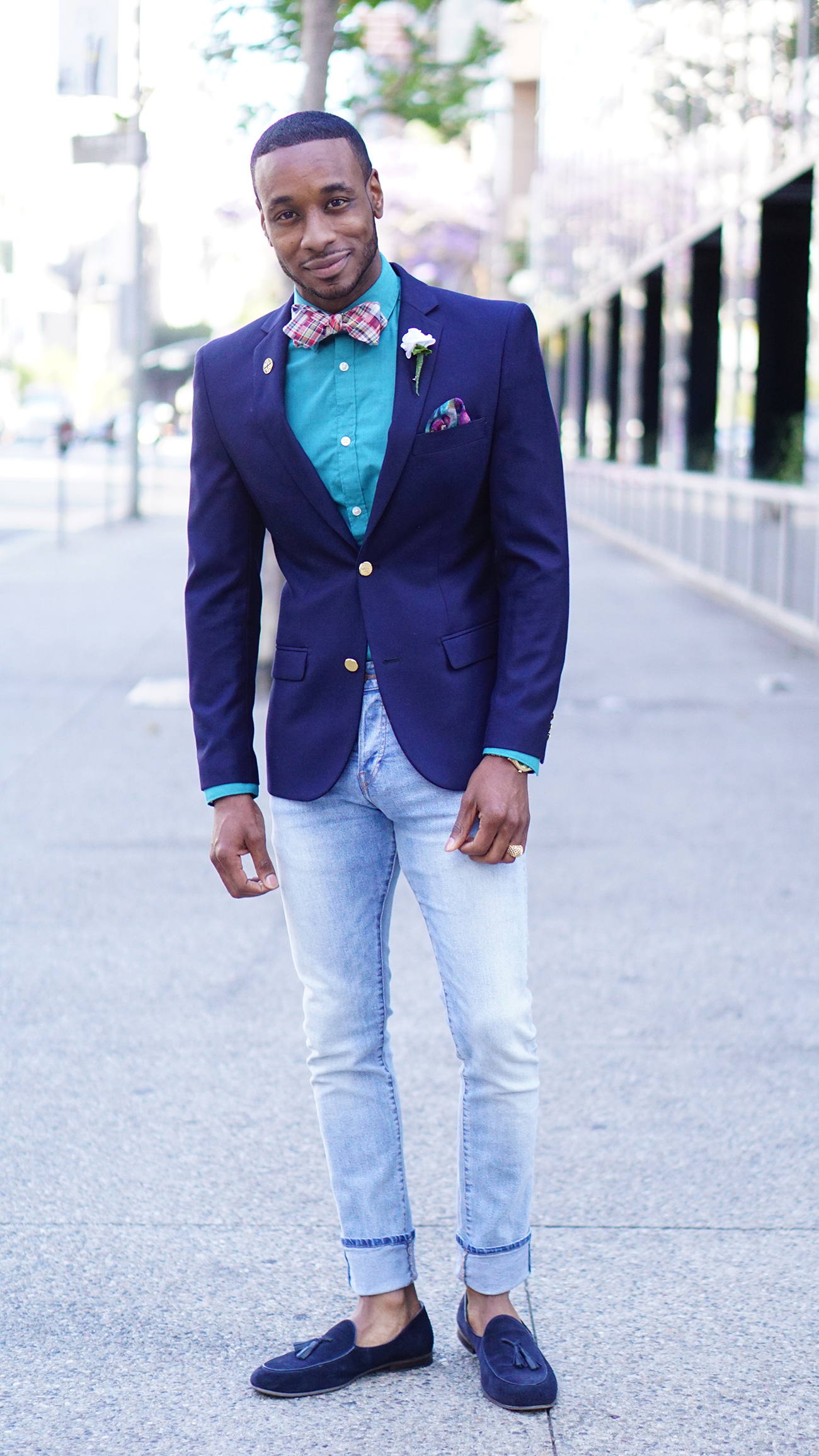 Ootd Dapper Denim Norris Danta Ford