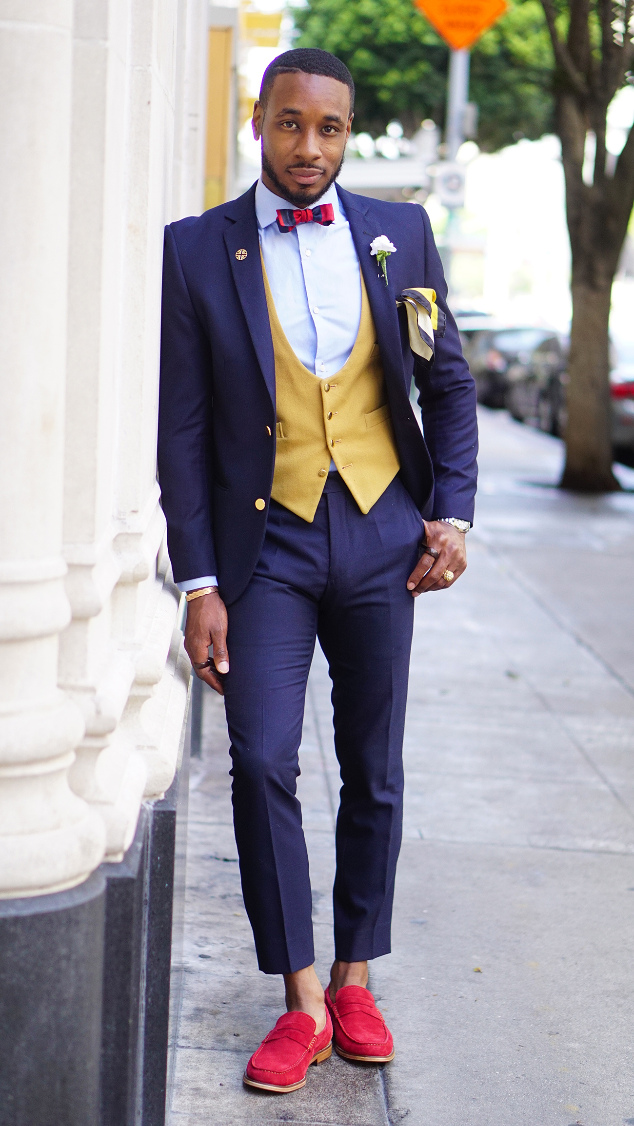 How To Style Red Loafers For The Summer Norris Danta Ford