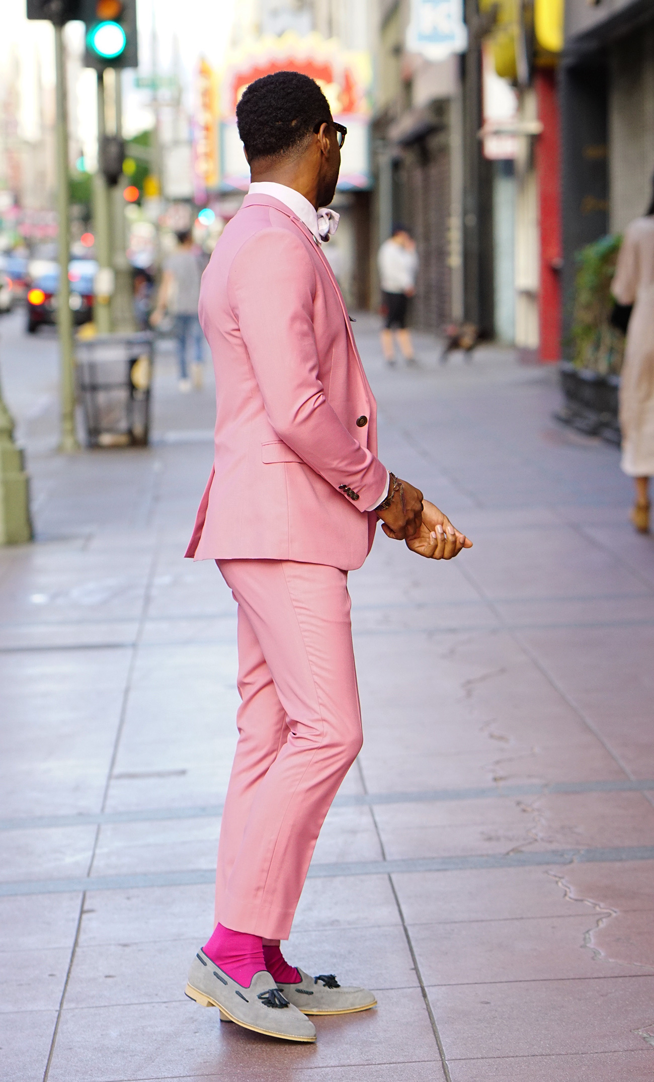 how to rock a pink suit � norris danta ford