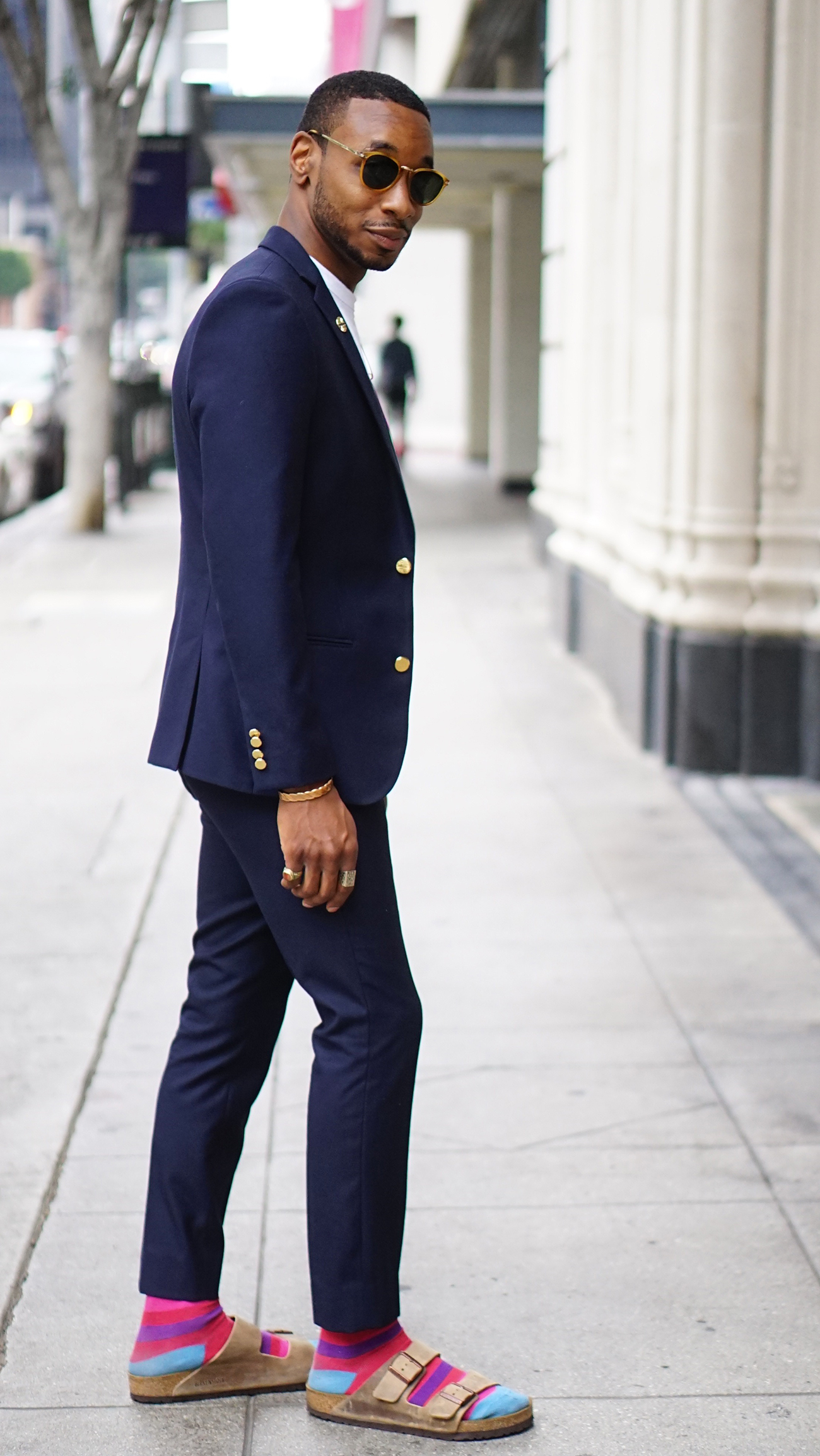 Buy Men wearing style: sandals with socks picture trends