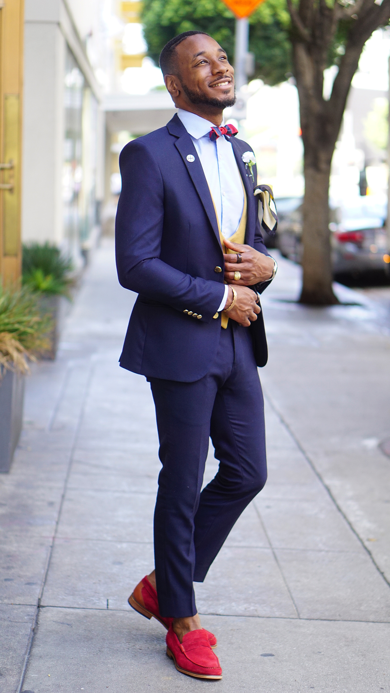 HOW TO STYLE RED LOAFERS FOR THE SUMMER \u2013 Norris Danta Ford
