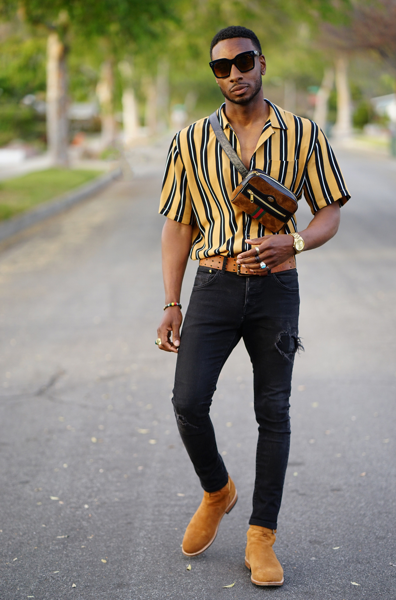67dd57f4976 ... Urban Outfitters and my black denim jeans from H M. You can also find  my Gucci belt bag (here). causal mensweardiy fashion bloggergucci baggucci  fanny ...