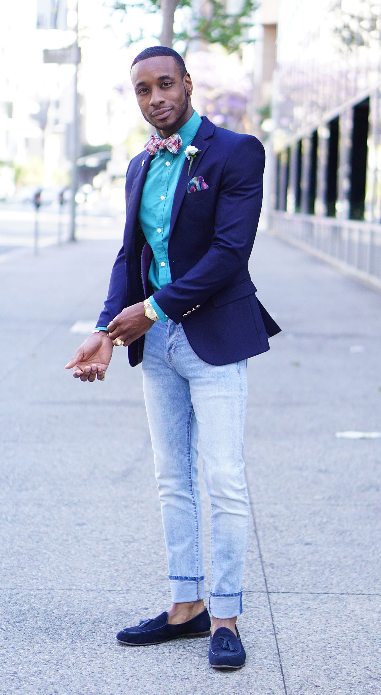OOTD: DAPPER + DENIM – Norris Danta Ford