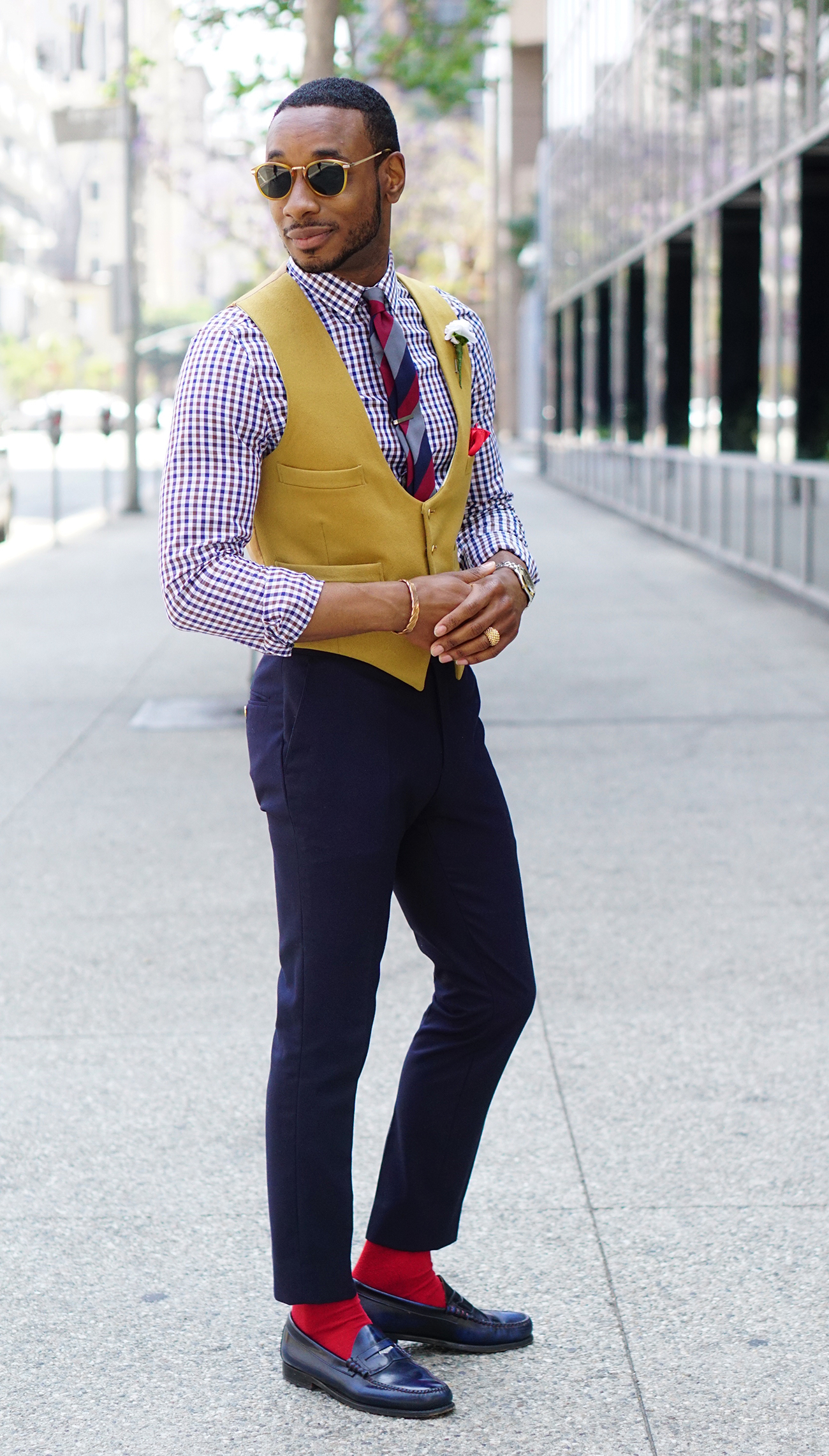How To Style Just A Waistcoat Norris Danta Ford