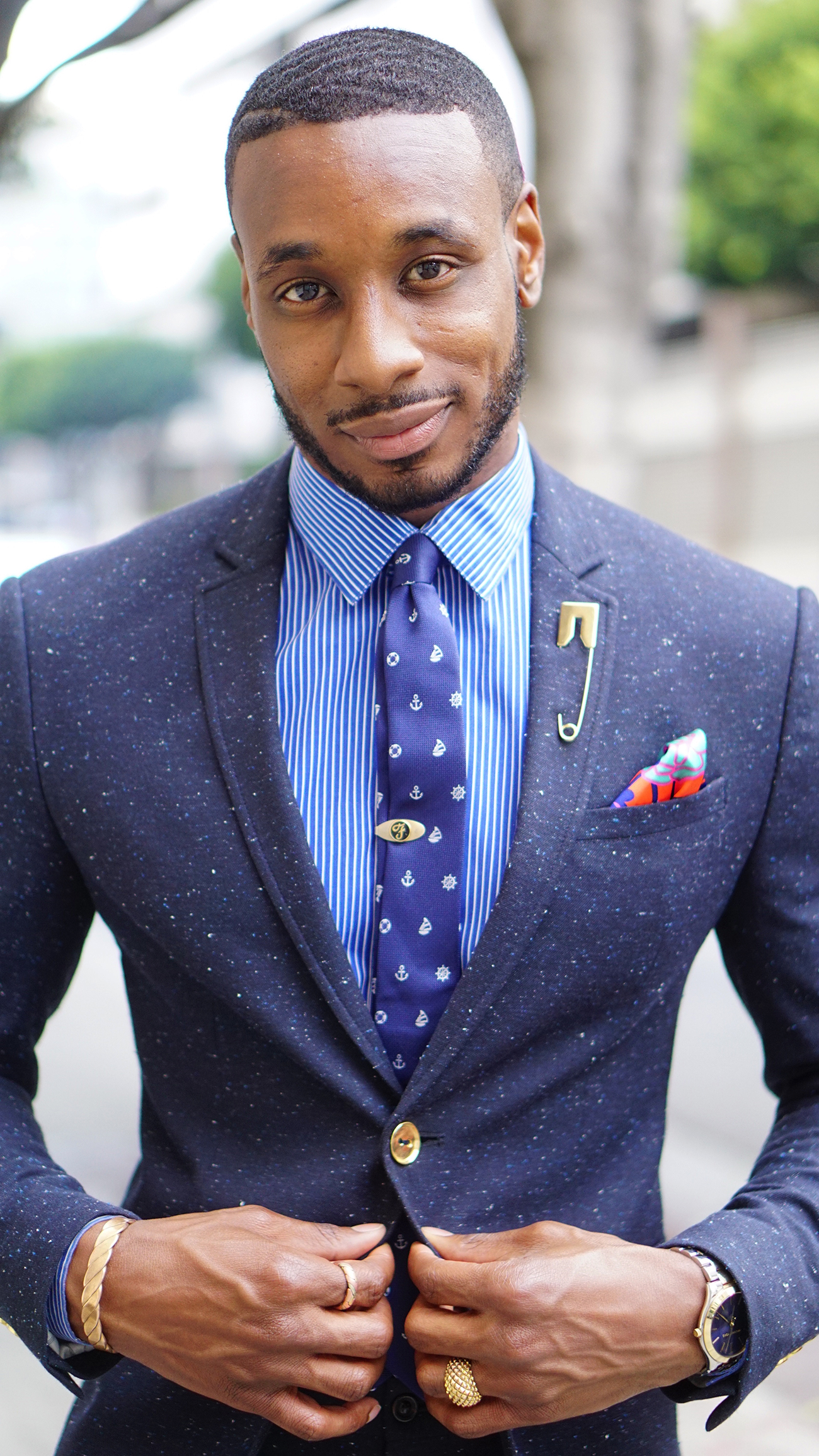 The Power Of The Pocket Square Norris Danta Ford