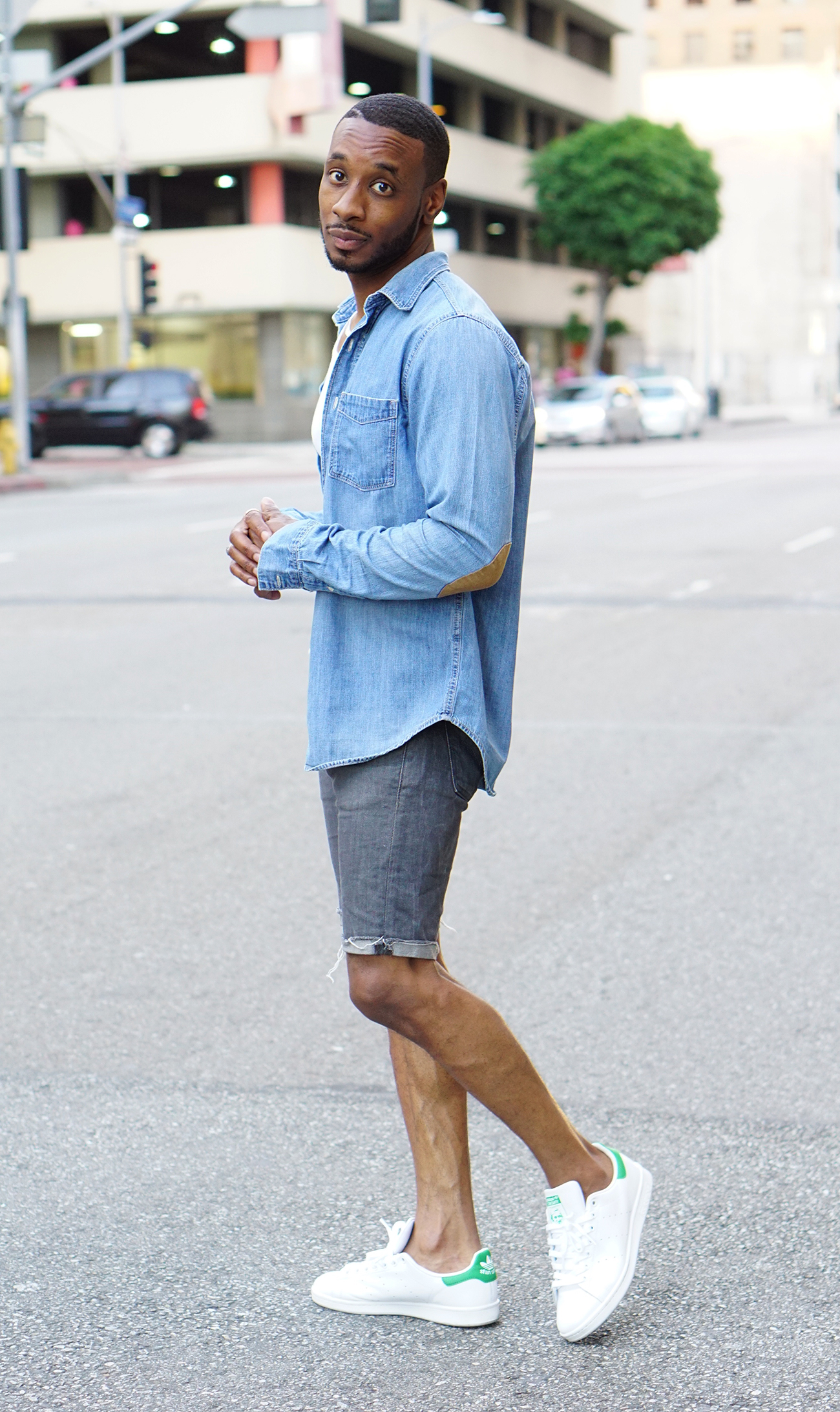 Ootd Dressing Down With Denim Shorts Norris Danta Ford