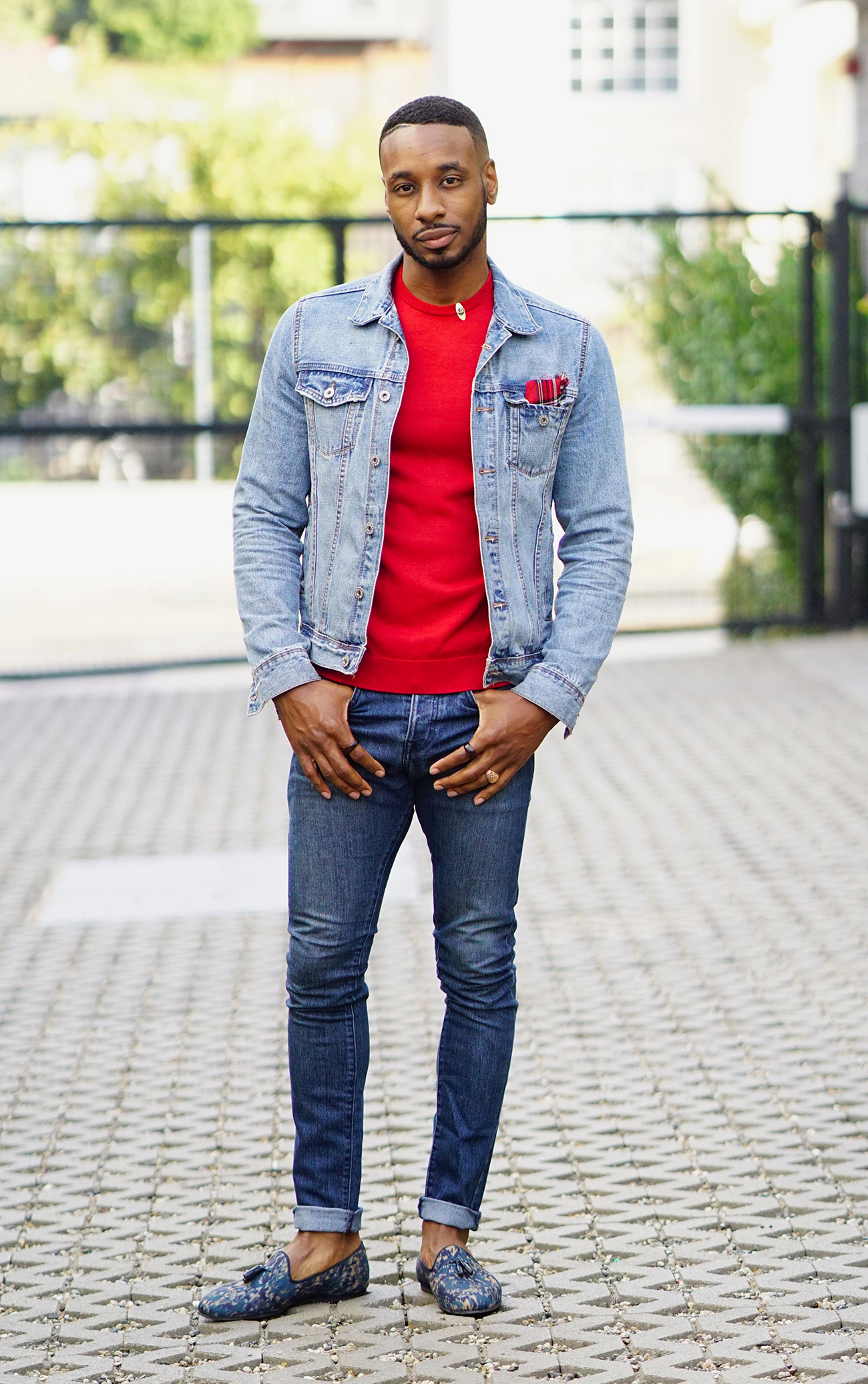 Ootd Casual Denim Outfit With Loafers Norris Danta Ford