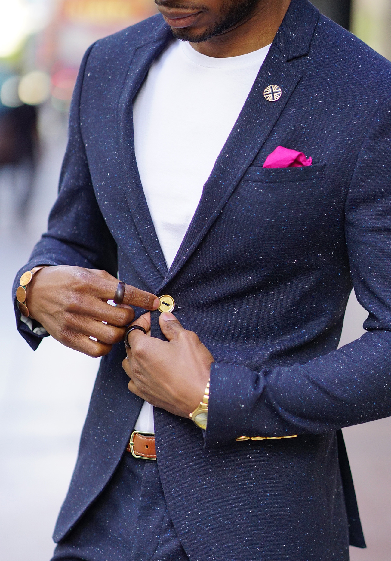 ootd  tweed suit   white tee   stan smith adidas  u2013 norris danta ford