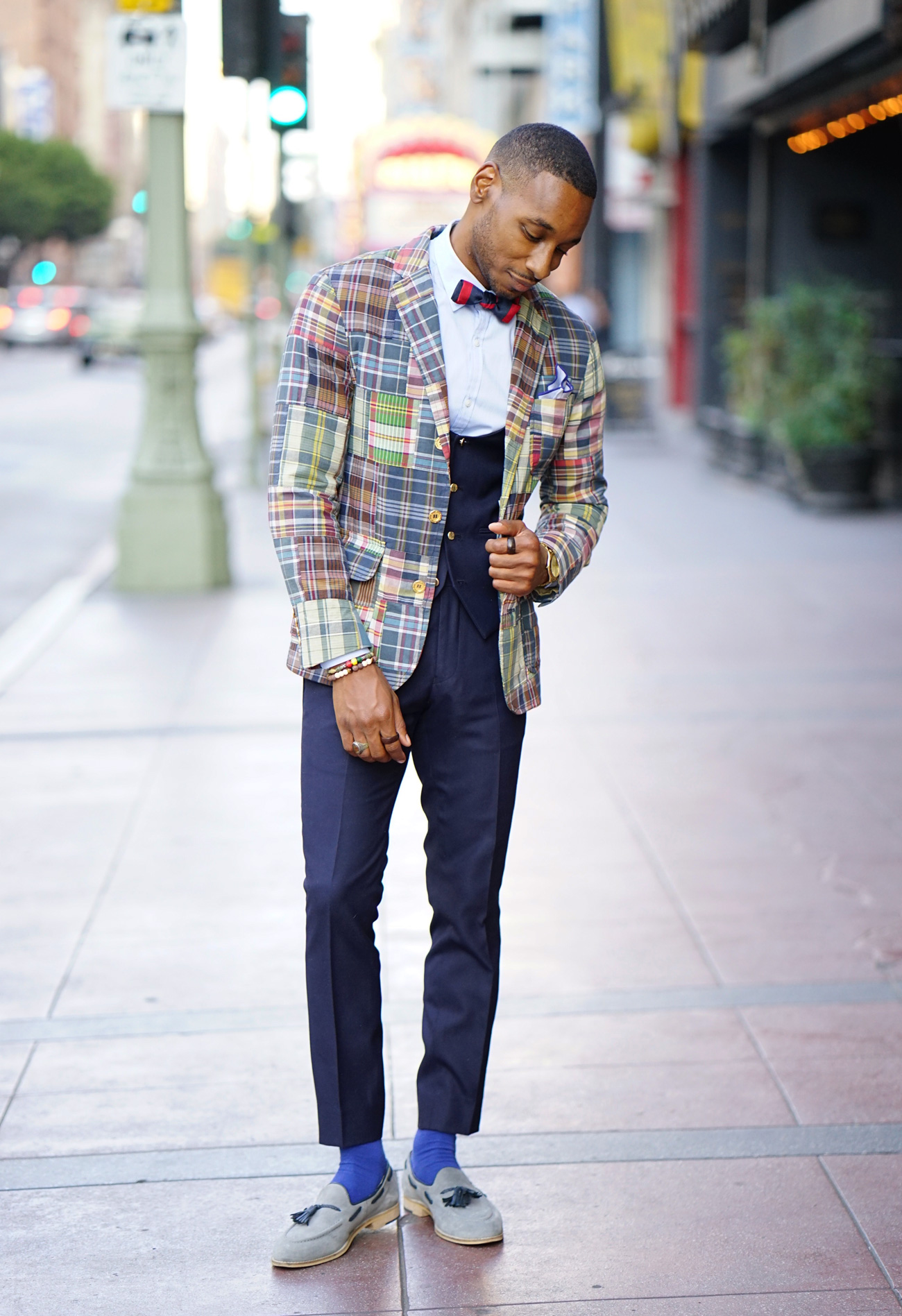 Ootd How To Style Madras Print For The Office Norris