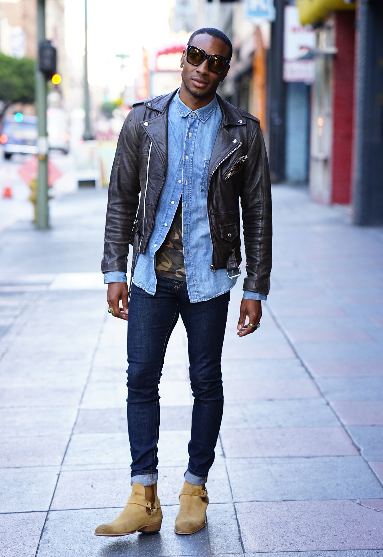 Ootd Chelsea Boots Leather Jacket Norris Danta Ford