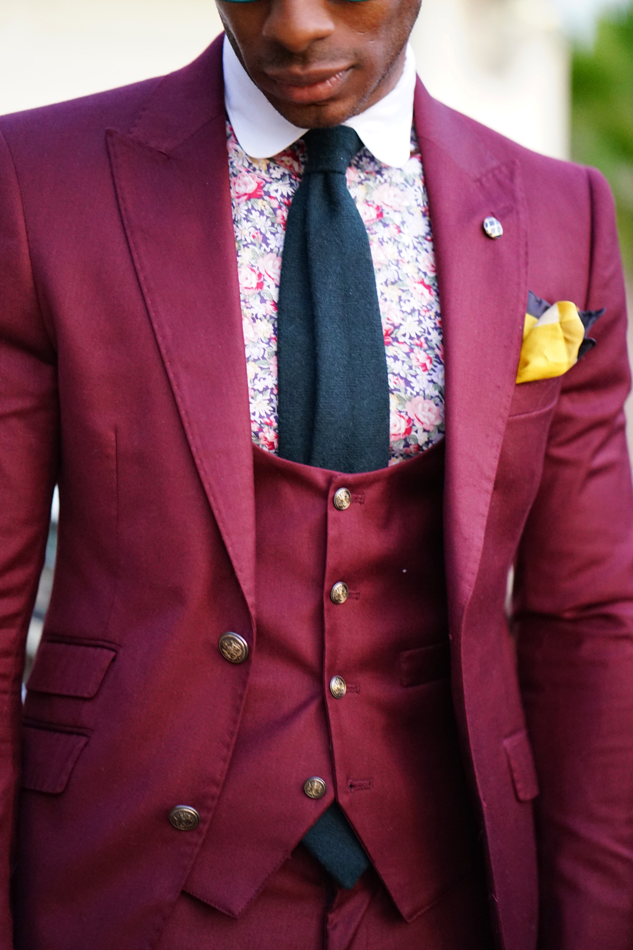 Burgundy Dress Shirt Mens