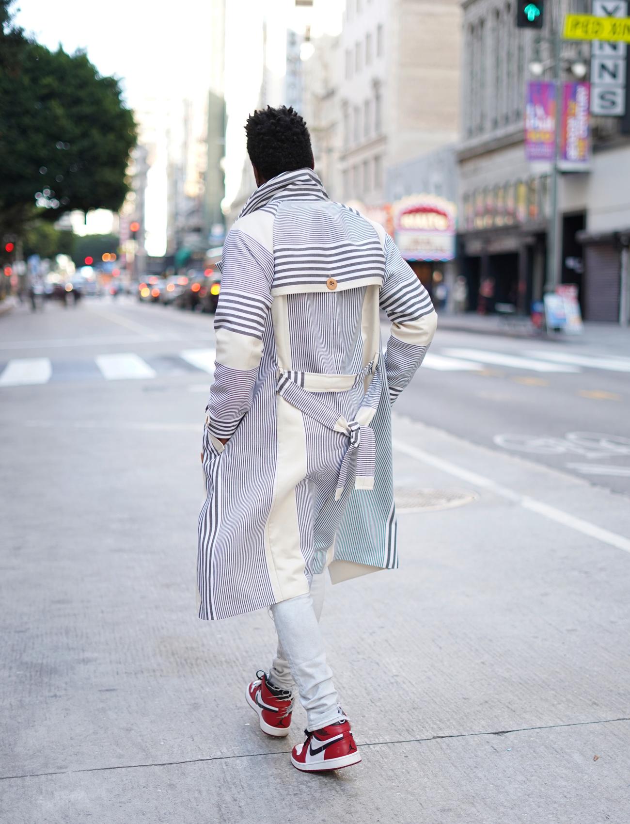 Diy Trench Coat Vogue Pattern 8720 Norris Danta Ford
