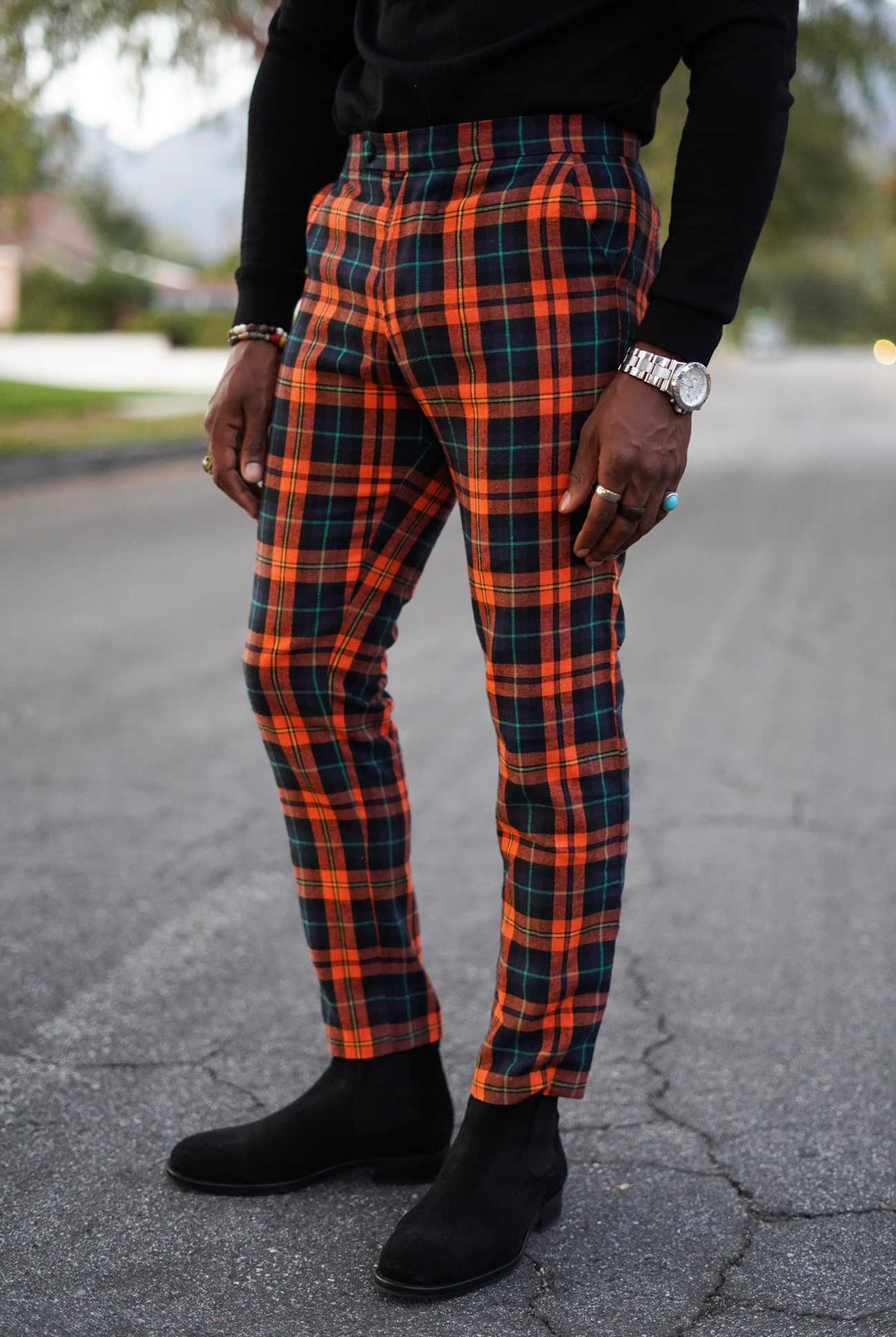 Diy Plaid Pants W Casual Gq Look Norris Danta Ford
