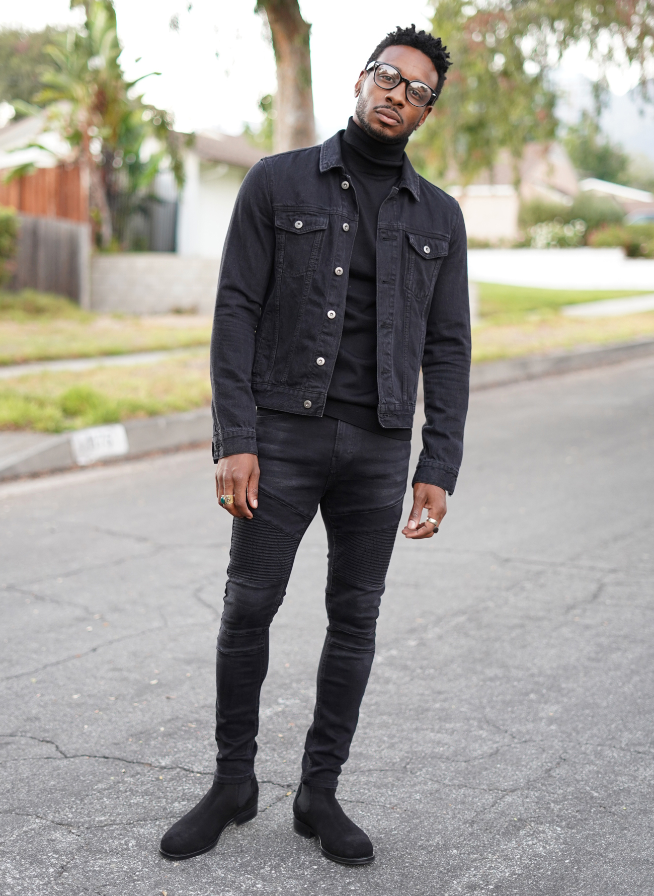 Ootd All Black Fall Look W Chic Street Style Vibe Norris Danta Ford